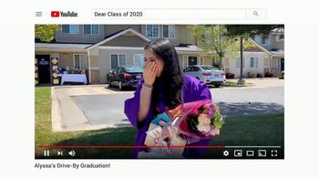 YouTube TV Spot, 'Celebrating the Class of 2020: Graduate With Me' - Thumbnail 6