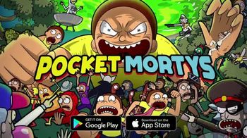 Pocket Mortys TV Spot, 'New Avatars: Brake Fluid Morty, Drone Morty and Ricklet King Jerry' - Thumbnail 8