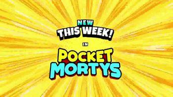 Pocket Mortys TV Spot, 'New Avatars: Brake Fluid Morty, Drone Morty and Ricklet King Jerry' - Thumbnail 1