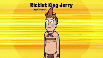 Pocket Mortys TV Spot, 'New Avatars: Brake Fluid Morty, Drone Morty and Ricklet King Jerry' - Thumbnail 4