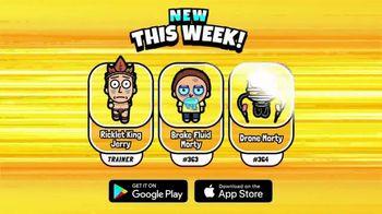 Pocket Mortys TV Spot, 'New Avatars: Brake Fluid Morty, Drone Morty and Ricklet King Jerry' - Thumbnail 6