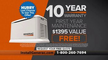 Generac Power Up Dallas Sales Event TV Spot, 'Life Goes On' - Thumbnail 10