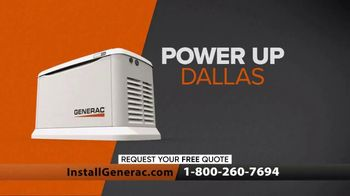 Generac Power Up Dallas Sales Event TV Spot, 'Life Goes On' - Thumbnail 9