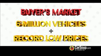 CarSoup.com TV Spot, 'A Buyer's Market' - Thumbnail 1
