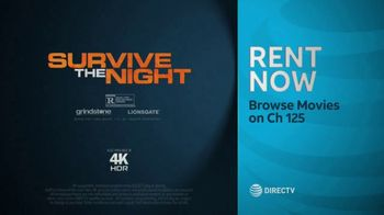 DIRECTV Cinema TV Spot, 'Survive the Night' - Thumbnail 10
