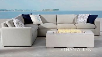 Ethan Allen Memorial Day Sale TV Spot, 'Enhance Your Outdoor Living Space'