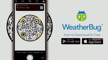 WeatherBug TV Spot, 'Fastest Alerts and Best Real Time Forecast' - Thumbnail 8