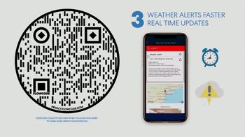 WeatherBug TV Spot, 'Fastest Alerts and Best Real Time Forecast' - Thumbnail 7