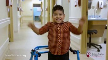Shriners Hospitals for Children TV Spot, 'Thankful' - Thumbnail 10