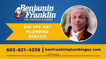 Benjamin Franklin Plumbing TV Spot, 'Running Toilets' - Thumbnail 8