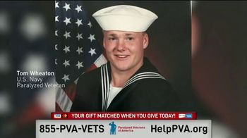 Paralyzed Veterans of America TV Spot, 'Stories From the Inside With U.S. Navy Veteran, Tom Wheaton'