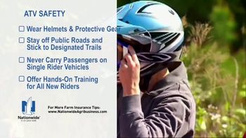 Nationwide Agribusiness TV Spot, 'ATV Safety Tips' - Thumbnail 4