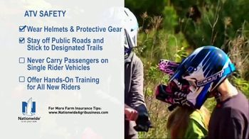 Nationwide Agribusiness TV Spot, 'ATV Safety Tips' - Thumbnail 5