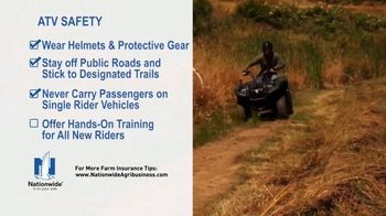 Nationwide Agribusiness TV Spot, 'ATV Safety Tips' - Thumbnail 6