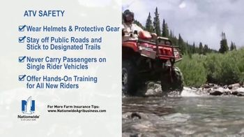 Nationwide Agribusiness TV Spot, 'ATV Safety Tips' - Thumbnail 7
