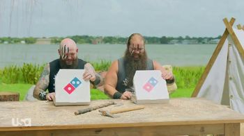 Domino's Specialty Pizzas TV Spot, 'USA Network: Cheeseburgers' Featuring Todd Smith, Raymond Rowe - Thumbnail 10