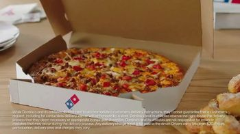 Domino's Specialty Pizzas TV Spot, 'USA Network: Cheeseburgers' Featuring Todd Smith, Raymond Rowe - Thumbnail 6