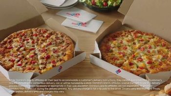 Domino's Specialty Pizzas TV Spot, 'USA Network: Cheeseburgers' Featuring Todd Smith, Raymond Rowe - Thumbnail 7