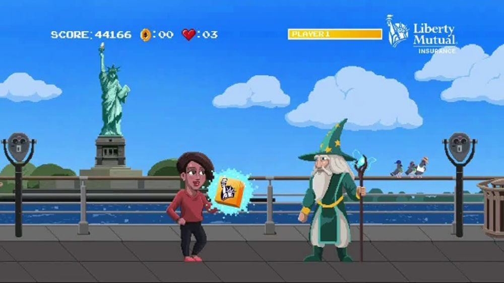 - Liberty Mutual TV Commercial, 'Video Game' - iSpot.tv