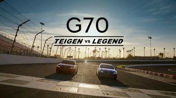 2020 Genesis G70 TV Spot, 'Track' Featuring Chrissy Teigen, John Legend [T1] - Thumbnail 1