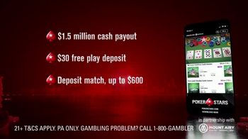 PokerStars TV Spot, 'Ante Up, Pennsylvania'