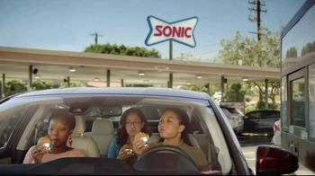Sonic Drive-In Jr. Garlic Butter Bacon Burger TV Spot, 'Happy Dance'