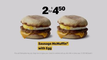 McDonald's TV Spot, 'Breakfast Stampede: Sausage McMuffin and Coffee' - Thumbnail 7