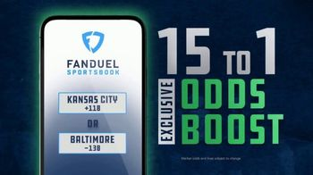 FanDuel Sportsbook TV Spot, 'Start the Football Season: 15 to 1 Odds'