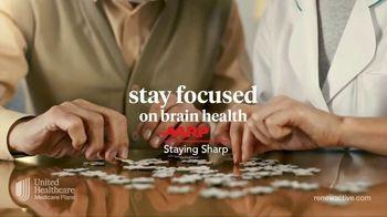 UnitedHealthcare Renew Active TV Spot, 'Stay Focus on Brain Health' - Thumbnail 3