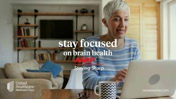 UnitedHealthcare Renew Active TV Spot, 'Stay Focus on Brain Health' - Thumbnail 4
