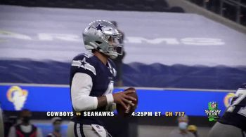 DIRECTV NFL Sunday Ticket TV Spot, 'Warmup: Cowboys Versus Seahawks' Featuring Dak Prescott - Thumbnail 4