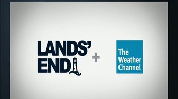 Lands' End TV Spot, 'Weather Channel: Relentless' - Thumbnail 10