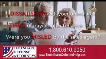 Timeshare Defense Attorneys TV Spot, 'Cancel Your Timeshare' - Thumbnail 1