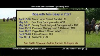 Best of America by Horseback TV Spot, 'Ride With Tom: Request' - Thumbnail 7