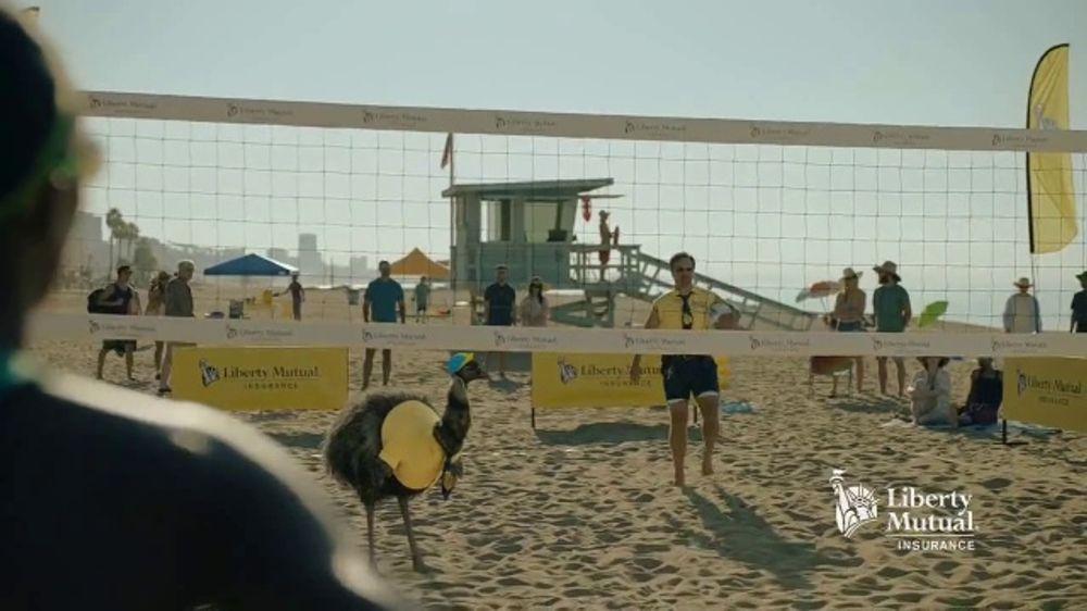 Liberty Mutual TV Commercial, 'LiMu Emu & Doug: Volleyball ...