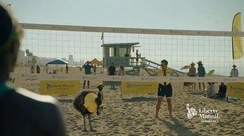 Liberty Mutual TV Spot, 'LiMu Emu & Doug: Volleyball' - Thumbnail 2