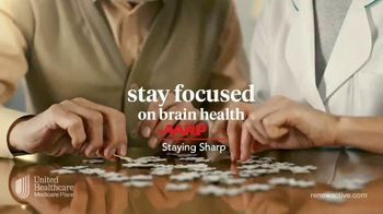 UnitedHealthcare Renew Active TV Spot, 'Staying Sharp' - Thumbnail 3