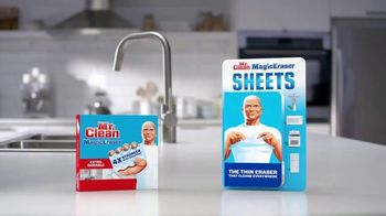 Mr. Clean Magic Erasers TV Spot, 'Cleaning Tips' - Thumbnail 9
