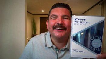 Crest Whitening Emulsions TV Spot, 'Posing' Ft. Guillermo Rodriguez, Melissa Alatorre - Thumbnail 4