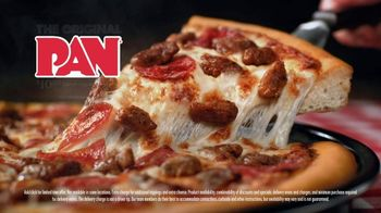 Pizza Hut Original Pan Pizza TV Spot, 'Comfort Food' - Thumbnail 5