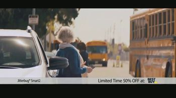 GreatCall Jitterbug Smart2 TV Spot, 'Having My Mom Around: 50% Off' - 53 commercial airings
