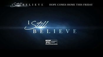 I Still Believe Home Entertainment TV Spot Song by Cast of I Still Believe - Thumbnail 10