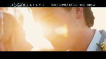 I Still Believe Home Entertainment TV Spot Song by Cast of I Still Believe - Thumbnail 5