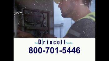 The Driscoll Firm TV Spot, 'Asbestos'