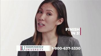 Independence University TV Spot, '58%'