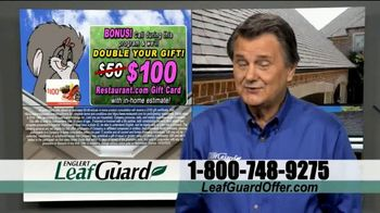 LeafGuard Spring Blowout Sale TV Spot, 'Double Your Gift' - Thumbnail 9
