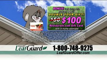 LeafGuard Spring Blowout Sale TV Spot, 'Double Your Gift' - Thumbnail 8