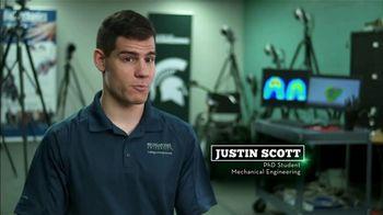 BTN LiveBIG TV Spot, 'A Michigan State Lab Studies the Mechanics of the Human Body' - Thumbnail 9