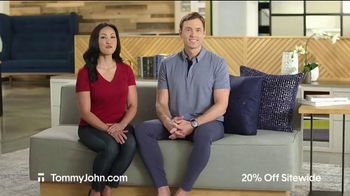 Tommy John Spring Sale TV Spot, '20% Off Sitewide' - Thumbnail 1
