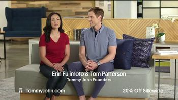 Tommy John Spring Sale TV Spot, '20% Off Sitewide' - Thumbnail 2